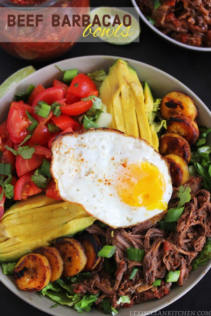 Beef Barbacao Bowls