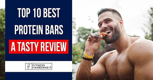 Best protein bars banner