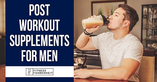 Post Workout Supplements for Men Banner